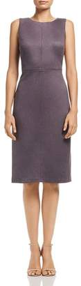 Adrianna Papell Faux Suede Dress
