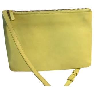 e59dc36b98 Celine Trio Yellow Leather Clutch Bag