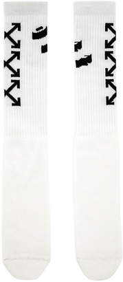 Off-White Off White Off Diagonal Socks