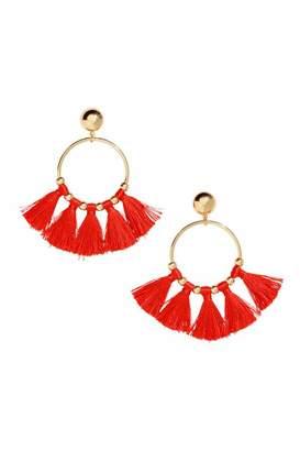 H&M Round Tasseled Earrings