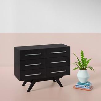 Hashtag Home Crayton 6 Drawer Double Dresser Hashtag Home