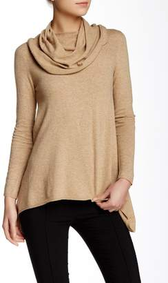 Love Token Candice Faux Leather Elbow Patch Sweater