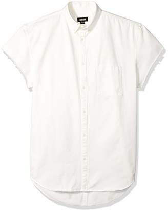 Zanerobe Men's Rise-Rugger Cut-Sleeve Shirt
