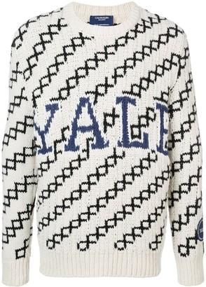 Calvin Klein slouchy Yale sweater