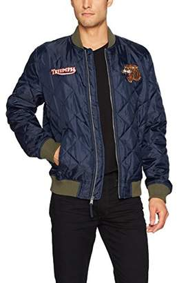 Lucky Brand Men's Quilted Bomber Jacket