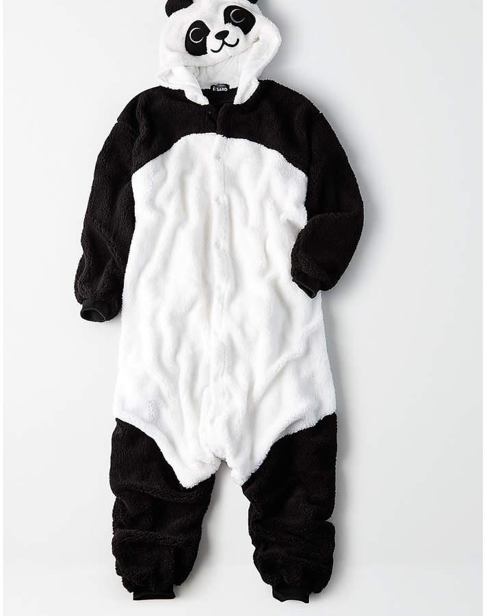 Aeo Fluffy Panda Kigurumi