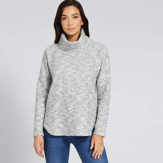 Seed Heritage Chunky Roll Neck Top