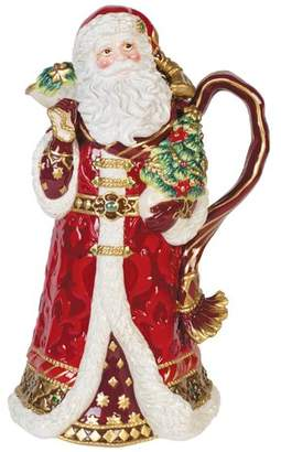 Fitz & Floyd Renaissance Holiday Santa 82 Oz. Pitcher