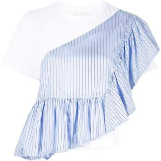 3.1 Phillip Lim layered ruffle trim T-shirt