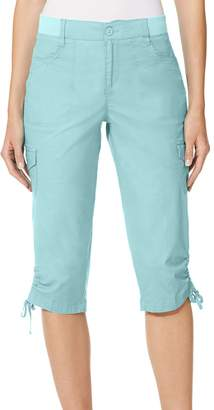 Gloria Vanderbilt Ladies Knit Waist Capri