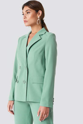 Na Kd Trend Double Breasted Loose Fit Blazer