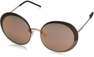 Emporio Armani Sunglasses 2044 3167/4Z Pink Brown Grey Mirror Pink