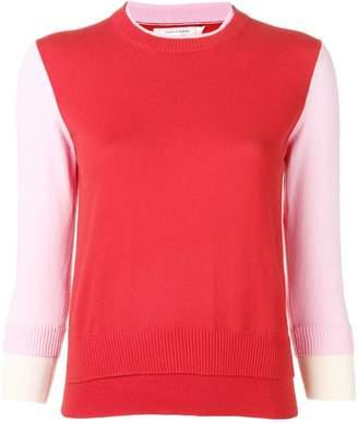 Parker Chinti & contrast panel sweatshirt