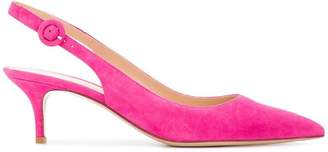 Gianvito Rossi slingback pointed toe pumps