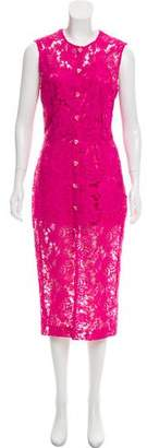 House of Holland Lace Midi Dress