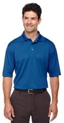 Ash City - Extreme Men's Eperformance Jacquard Pique Polo - MONARCH BLUE 609 - 4XL 85092