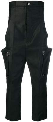 Rick Owens high-waisted cargo trousers