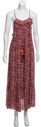 MISA Los Angeles Printed Maxi Dress