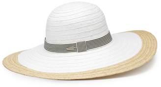Betmar Women's Lora Braided Wide Brim Sun Hat
