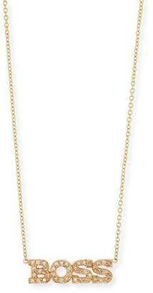 Chicco Zoe Personalized Four Letter Diamond Necklace in 14K Gold