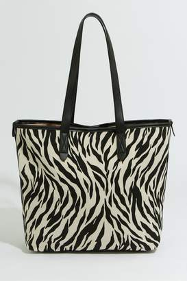 cf50324b2548 Next Womens Warehouse Animal Print Shopper Bag