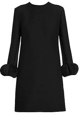 Valentino Women's Disc Cuff Long Sleeve Shift Dress
