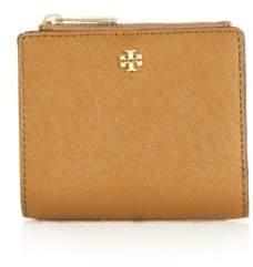 Tory Burch Robinson Leather Mini Wallet
