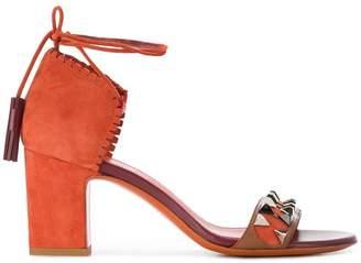 Santoni studded sandals