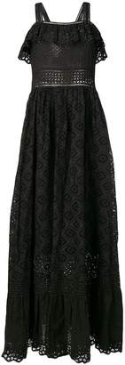 Twin-Set embroidered maxi dress