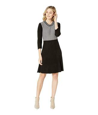 Calvin Klein Long Sleeve Sweater Dress