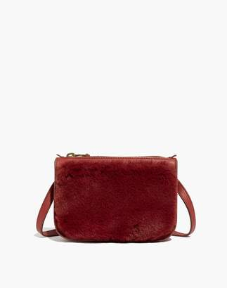 Madewell The Simple Pouch Belt Bag in Faux Fur