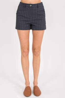 Very J Pretty In Pinstripe shorts