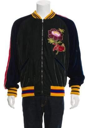 Gucci 2016 Velvet Bomber Jacket
