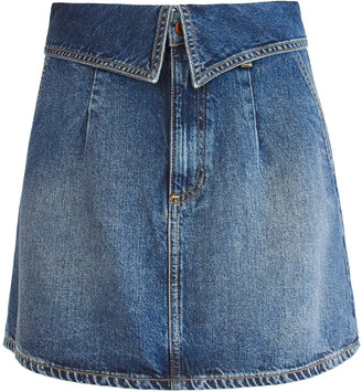 Alice + Olivia GOOD FOLD OVER MINI SKIRT