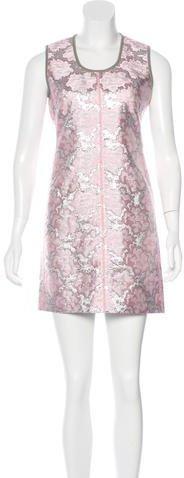 pradaPrada Brocade Mini Dress