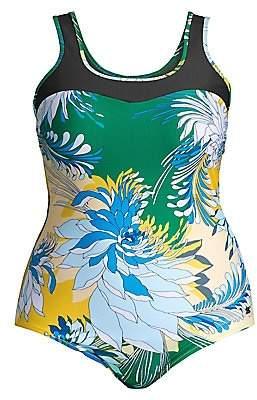 Marina Rinaldi Marina Rinaldi, Plus Size Marina Rinaldi, Plus Size Women's Sport 2 Sagoma Floral One-Piece Swimsuit