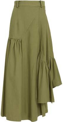 3.1 Phillip Lim Utility Layered Maxi Skirt