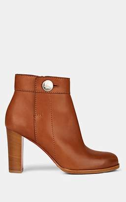 Christian Louboutin Women's Janis Leather Ankle Boots - Beige, Tan