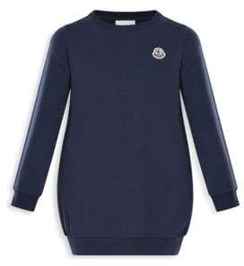 Moncler Little Girl's & Girl's Abito Long Sweatshirt