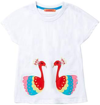 Funkyberry Peacock Top (Baby, Toddler, Little Girls, & Big Girls)