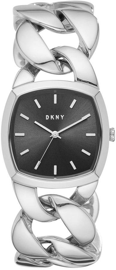 DKNYDKNY Women's Chanin Stainless Steel Chain Bracelet Watch 32mm NY2566