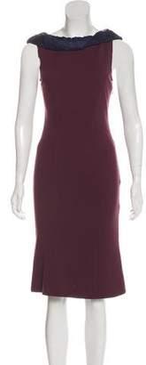 Diane von Furstenberg Sleeveless Knit Midi Dress