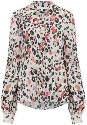 Lily & Lionel Maddox Blouse in Dancing Leopard