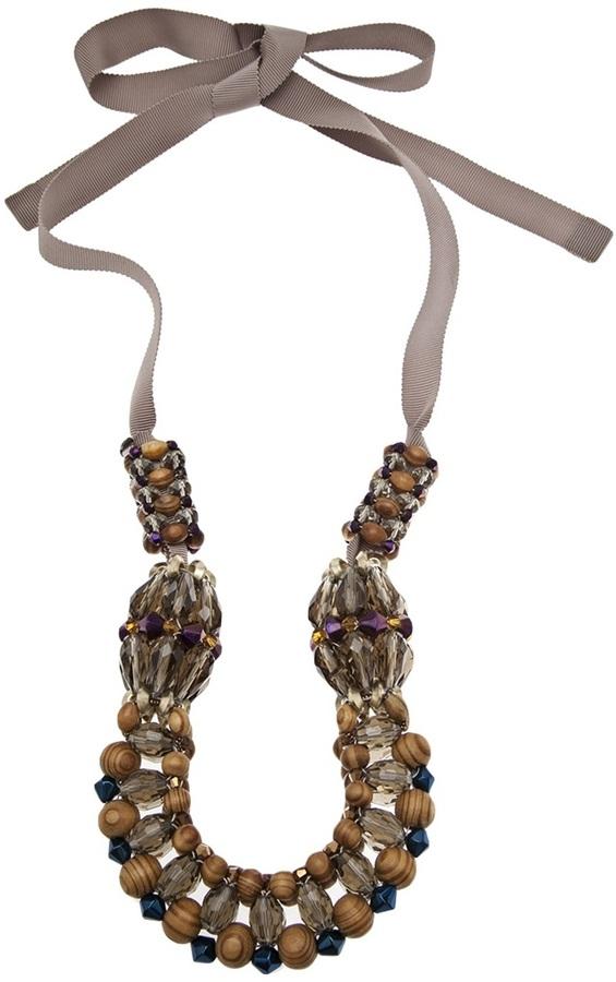 Megan Park long bead necklace