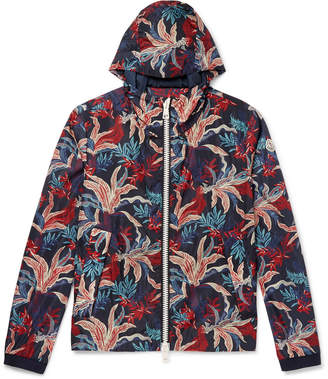 Moncler Maribeu Printed Shell Hooded Jacket