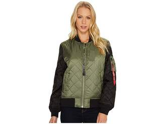 Alpha Industries MA-1 Diamond Jacket Women's Coat