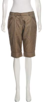 Just Cavalli Geometric Print Tailored Short