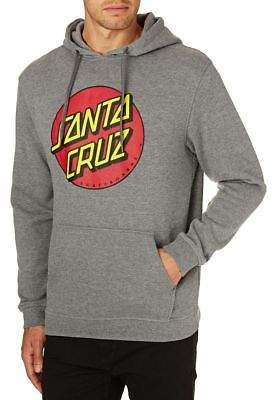 Santa Cruz Hoodies Classic Dot Hood - Dark Heather