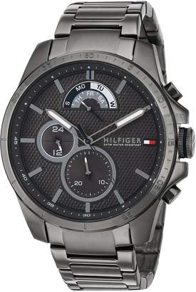 Tommy Hilfiger Men's 'COOL SPORT' Quartz Resin Casual Watch, Color: (Model: 1791347)