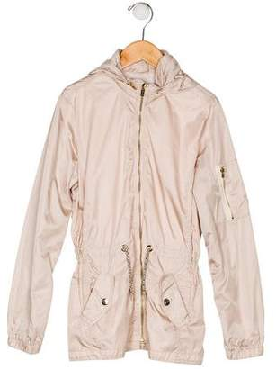 Chloé Girls' Lightweight Hooded Jacket